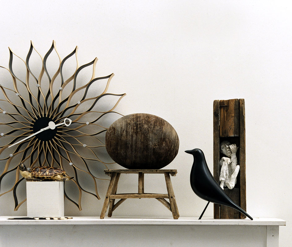 Eames-Black-House-Bird-Mantle-Vignette