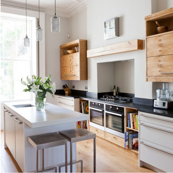 Feng Shui Keuken Kleuren : Light and Airy Kitchen