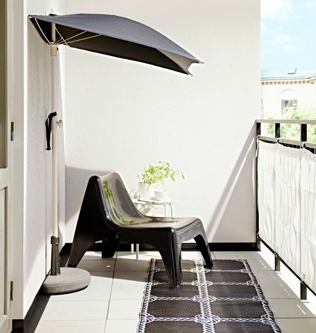 zomer in je bol bij ikea askholmen voor op je balkon. Black Bedroom Furniture Sets. Home Design Ideas